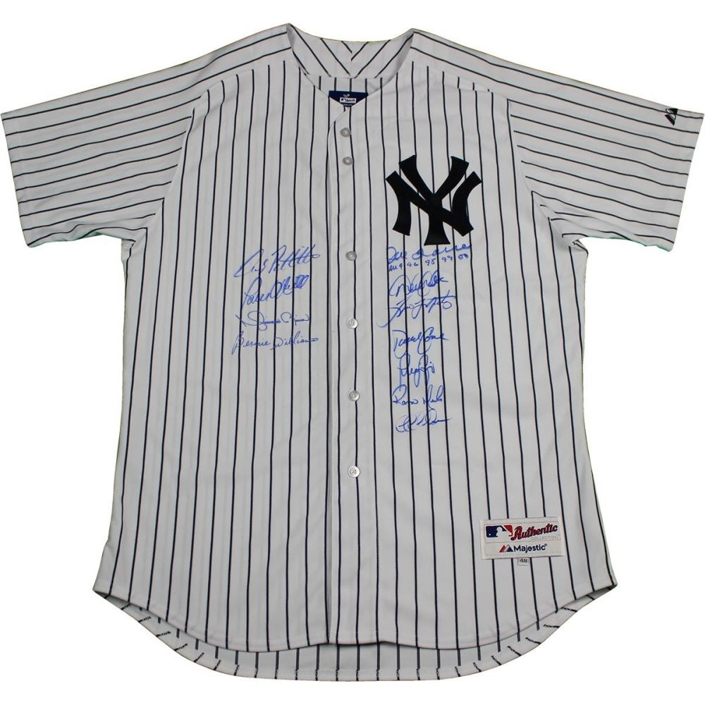 promo code 121e6 64c98 New York Yankees Dynasty LE Yankees Jersey Team-Signed ...