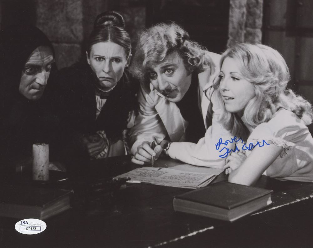 Entertainment Memorabilia Teri Garr Signed 8x10 Photo Jsa Coa Autograph Frankenstein Close Encounters Autographs-original