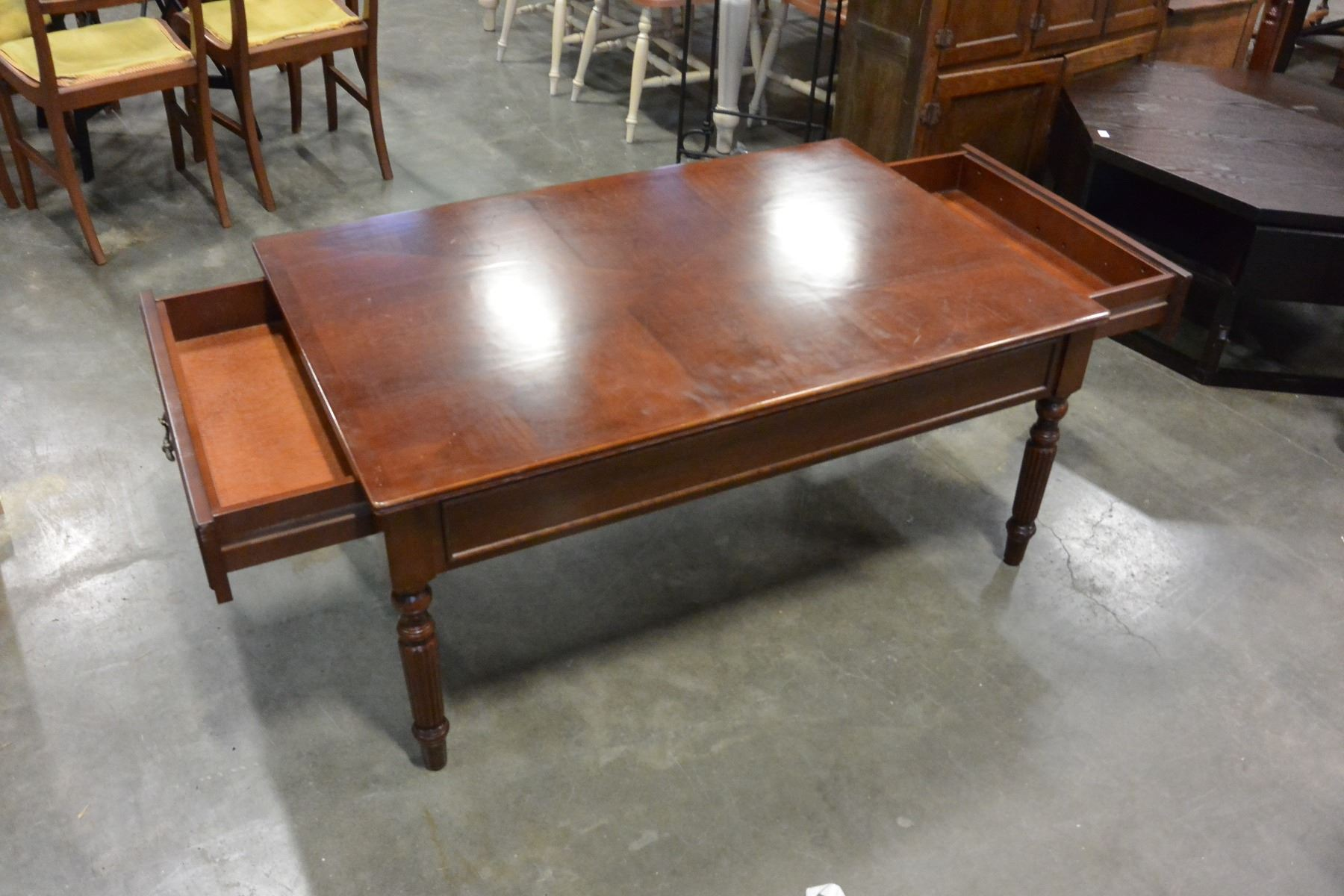Bombay Company 2 Drawer Coffee Table