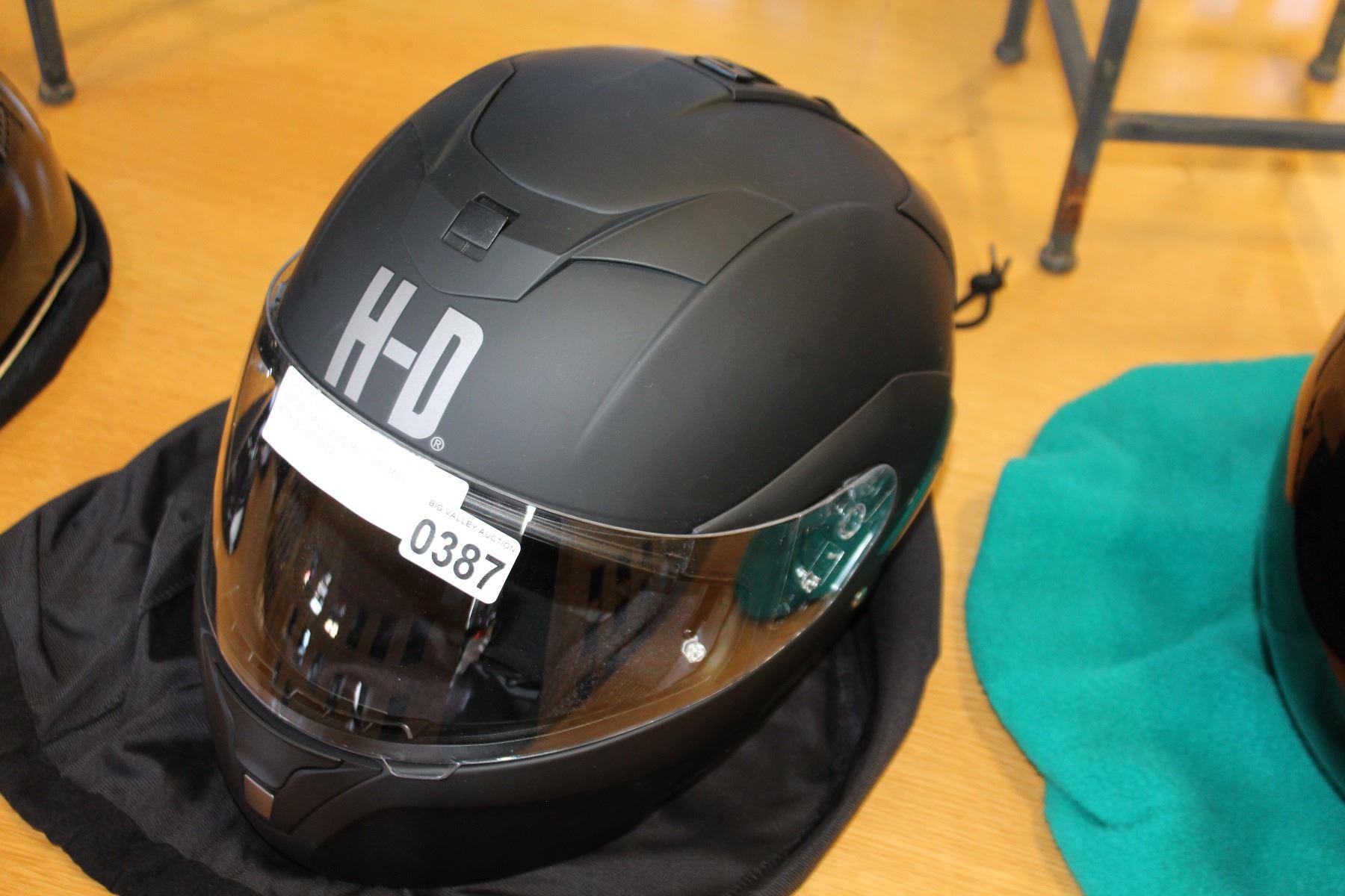 Harley Davidson M C Helmet With Bluetooth