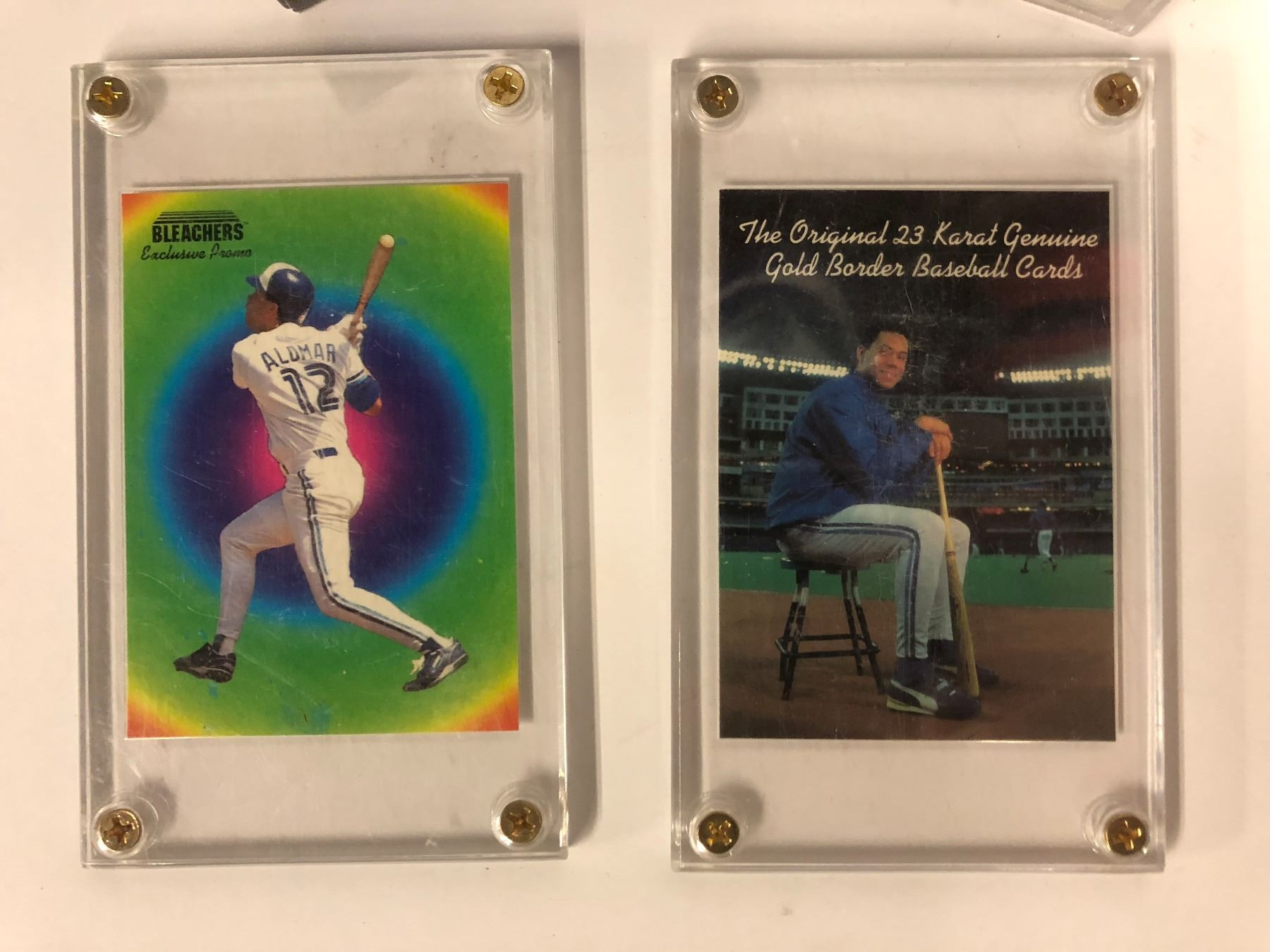 Roberto Alomar Trading Cards 1991 Fleer Ultra Baseball Logo Stickers Trading Cards
