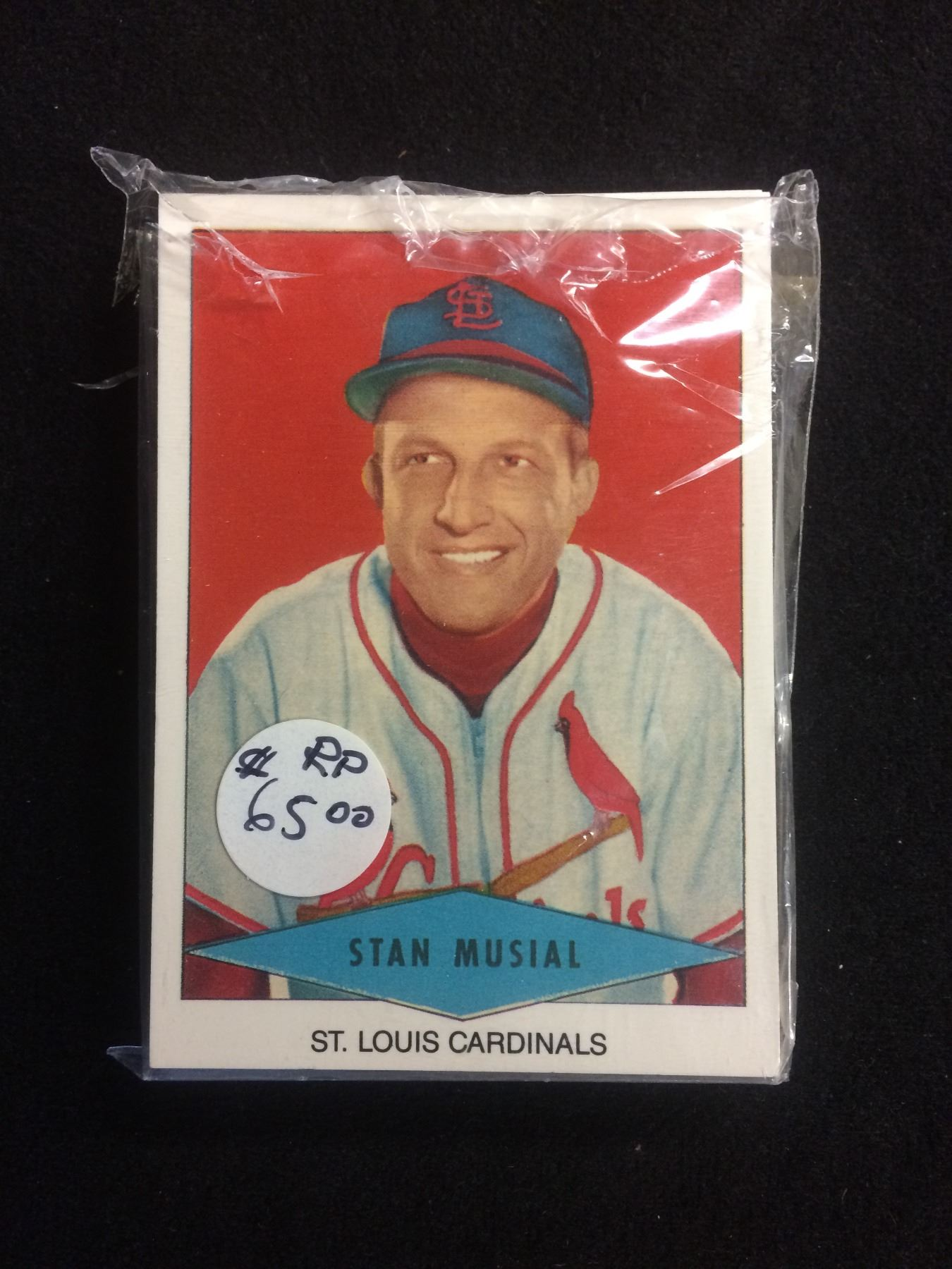 1954 Red Heart Baseball Card Set Reprints