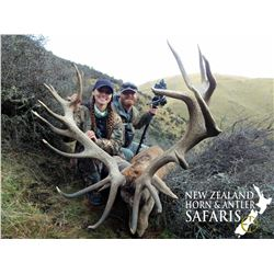 New Zealand 4 Day 5 Night Red Stag Hunt
