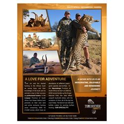 Plains Game Hunt for Two including Two Sable - Tom Dreyer