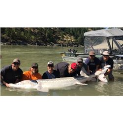 BC Sturgeon Fishing for Three - River Monster Adventures