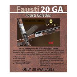 Fausti Over and Under Shotgun 20g - SCI Shotgun of the Year 2019