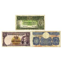 Various Issuers, Trio of Notes