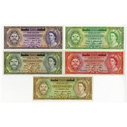 Government of Belize, 1976 Issue Banknote Assortment.