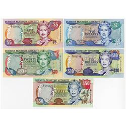 Bermuda Monetary Authority, 2000 Replacement Note Assortment.