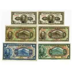 Banco Central de Bolivia, 1928, Group of 11 Issued Banknotes.
