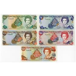 Cayman Islands Currency Board, 1998 Banknote Assortment