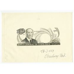 Banco Central de Costa Rica. 1988-90 Production Proof Rarity.