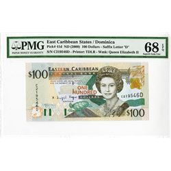 Eastern Caribbean Central Bank, ND (2000), Issued Banknote, Possibly the Finest Known.
