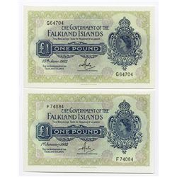 Government of the Falkland Islands, 1982 Banknotes