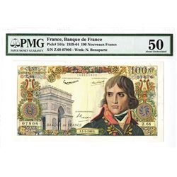 Banque de France, 1960 Issued Banknote.