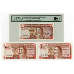 Government of Gibraltar, 1975 to 1986 Banknote Assortment