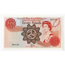 Isle of Man Government, 1979, £20