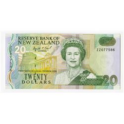 Reserve Bank of New Zealand, 1992 £20 Replacement Note