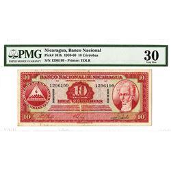 Banco Nacional De Nicaragua, 1959 Issued Banknote.