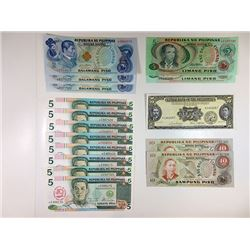 Central Bank and republic of the Philippines, A Large & Impressive 21 Piece Assortment of Replacemen