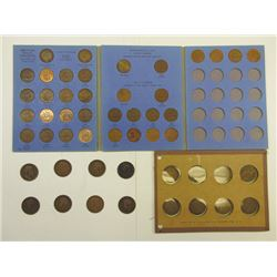 Great Britain Half Penny & Penny Assortment in Whitman Book.