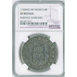 Mexico. 1740MoMF, 8 Reales.