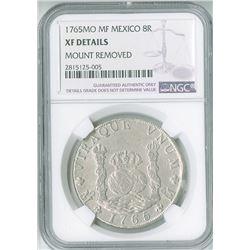Mexico. 1765MoMF, 8 Reales.