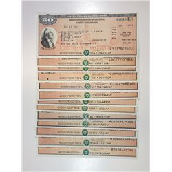 U.S. Savings Bonds, Series EE, 1988-2005 Bond Assortment.