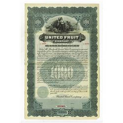 United Fruit Co., 1907 Specimen Gold Bond, Now Chiquita Brand International.
