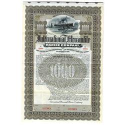 International Mercantile Marine Co., 1902 Specimen Bond, Builder & Owner of the Titanic.