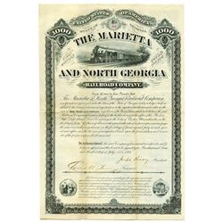 Mariette and North Georgia Rail Road Co., 1881 Issued Bond