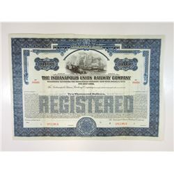 Indianapolis Union Railway Co., ca.1940-1950 Specimen Bond