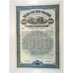 Texas and New Orleans Railroad Co., 1902 Specimen Equipment Bond.