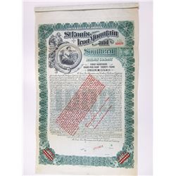 St. Louis. Iron Mountain and Southern Railway Co., 1903 Specimen Bond