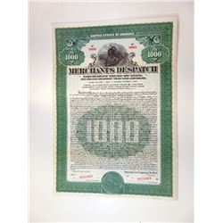 Merchants Dispatch Equipment Trust of 1928, Specimen Bond