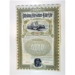 Pittsburgh, Bessemer & Lake Erie Railroad Co., 1897 Specimen Bond