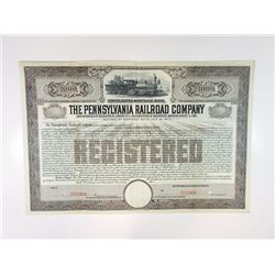 Pennsylvania Railroad Co., 1915 Specimen Bond
