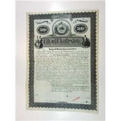 City of Charleston, 1898 Specimen Bond