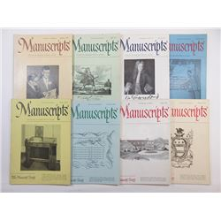 Group of Manuscripts Catalogues ca.1953-1955