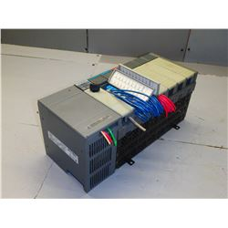 ALLEN BRADLEY  1746-A7 7 SLOT RACK WITH MISC MODULES - SEE PICS FOR MODULE TYPES!!