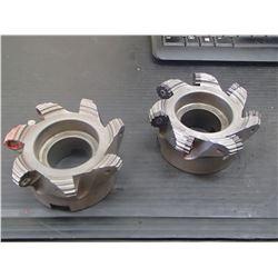 "Iscar 4"" Indexable Face Mill, ShredMill, P/N: FRW D337A400-7-1.50-16"