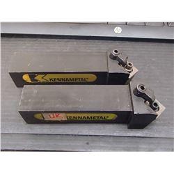 "Kennametal 1.25"" Indexable Lathe Tool Holders, P/N: DSSNL-206D"