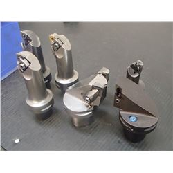 Misc Indexable Boring Heads, 7 Total