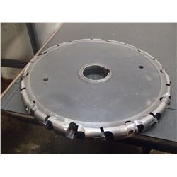 """McCrosky 15"""" x 1.375"""" Indexable Slot Milling Cutter, P/N: N/C-CJ-20-332"""