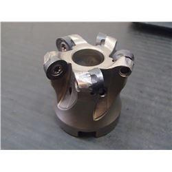 "Stellram 1.5"" Indexable Coolant Thru Face Mill, P/N: 7713VR10-A040Z05R"