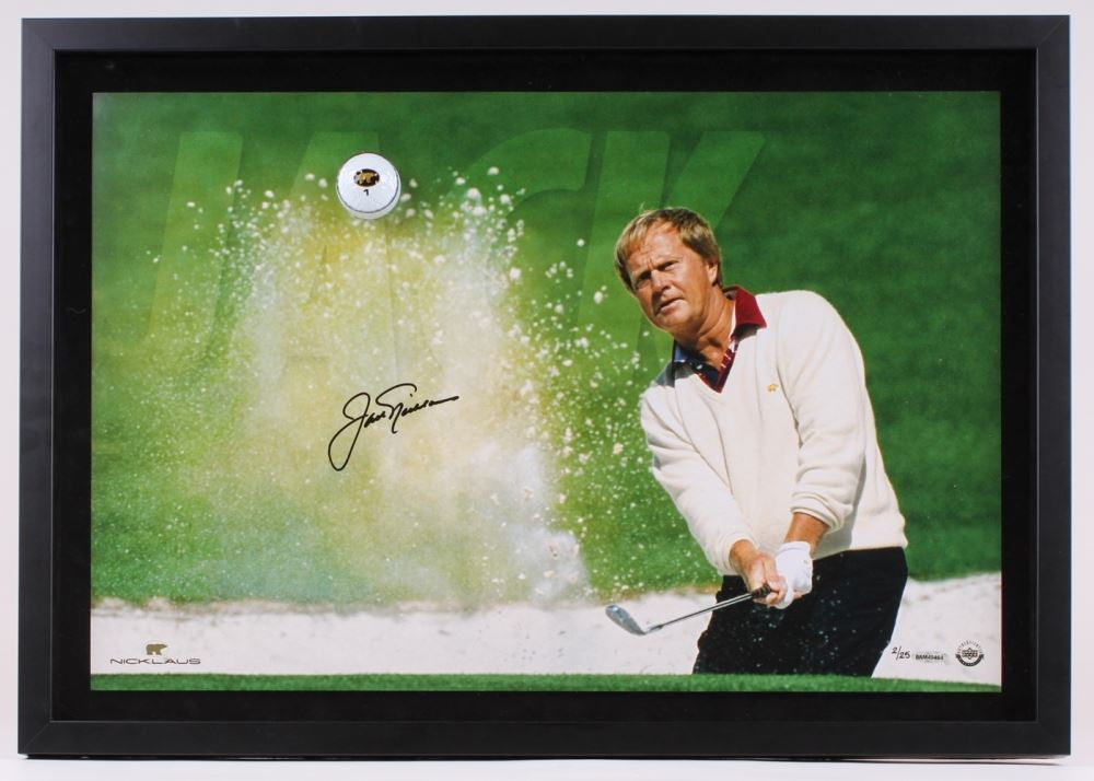1d3f4a97068 Jack Nicklaus Signed LE 27.25