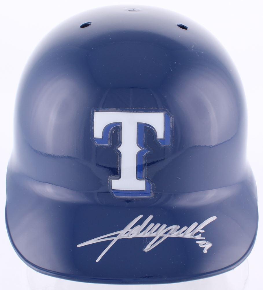 e196f48d2 Image 1   Adrian Beltre Signed Rangers Full-Size Authentic Batting Helmet  (MLB Hologram