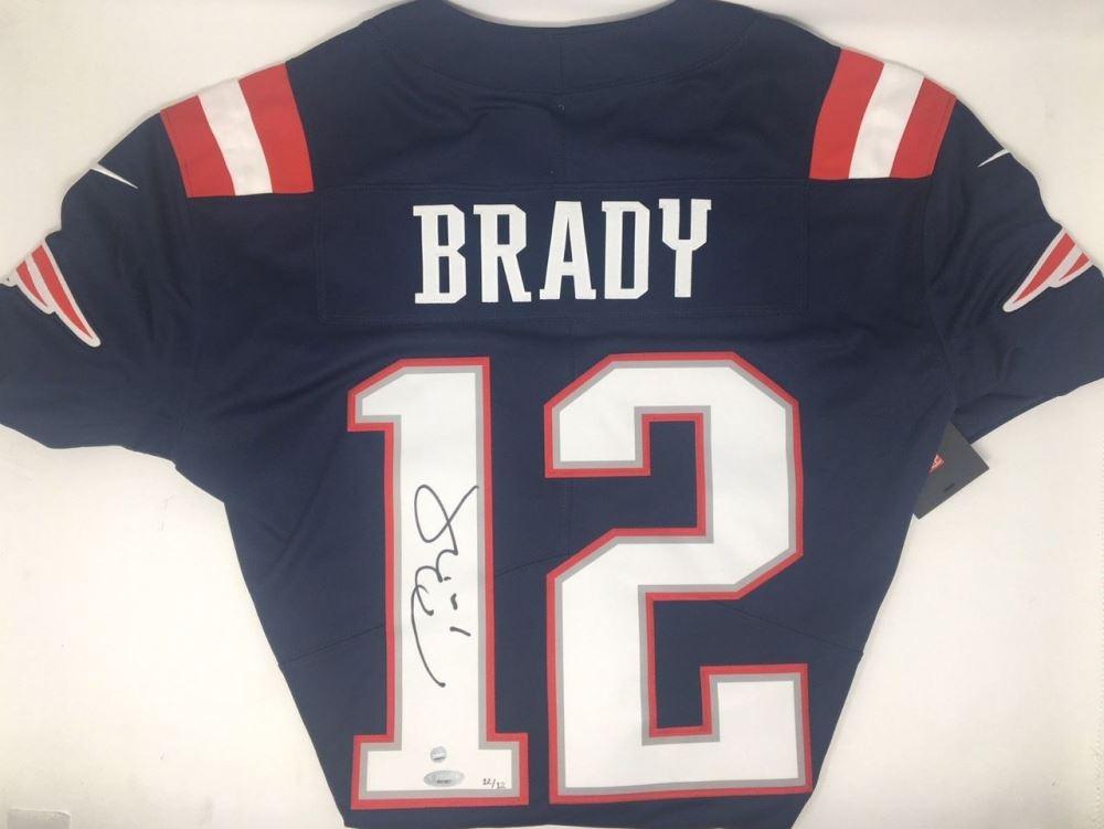 683081da27b Image 1 : Tom Brady Signed Limited Edition Patriots Nike Jersey (TriStar  Steiner)