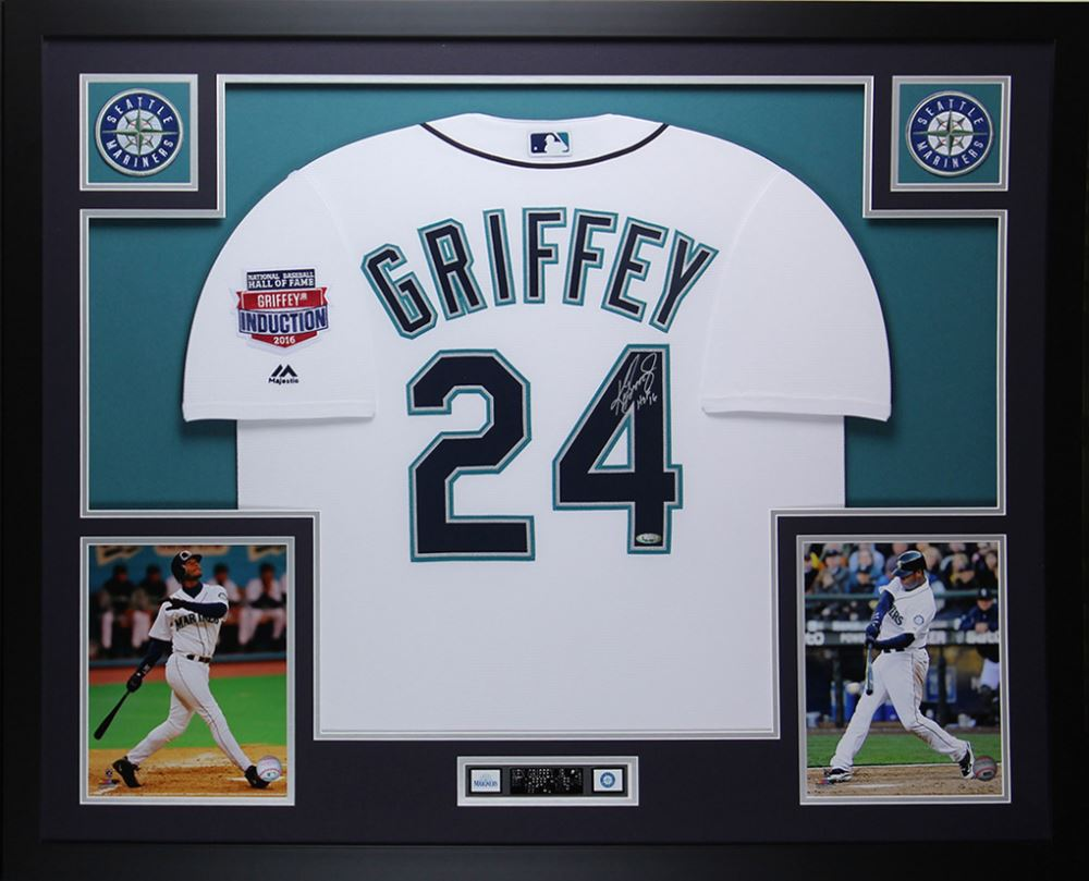 52bde93c37 Ken Griffey Jr. Signed Mariners 35