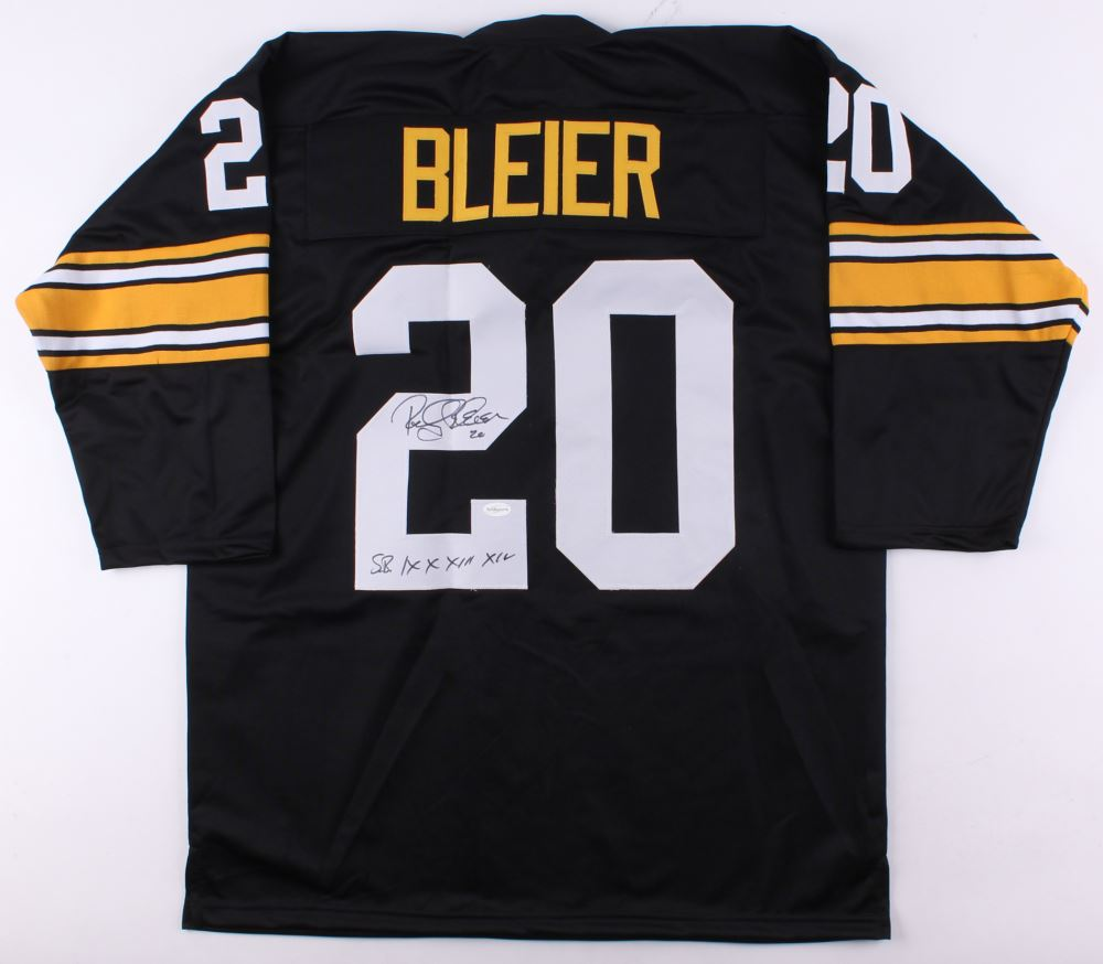 93953c165d8 Image 1 : Rocky Bleier Signed Steelers Jersey Inscribed